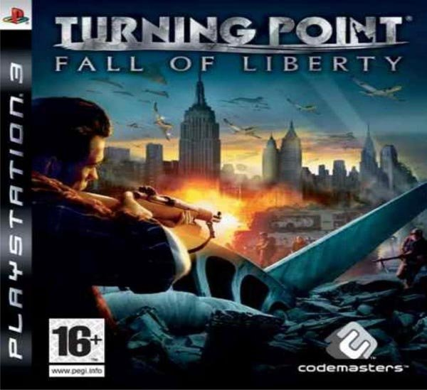 Turning Point: Fall Of Liberty Video Game Back Title by WonderClub