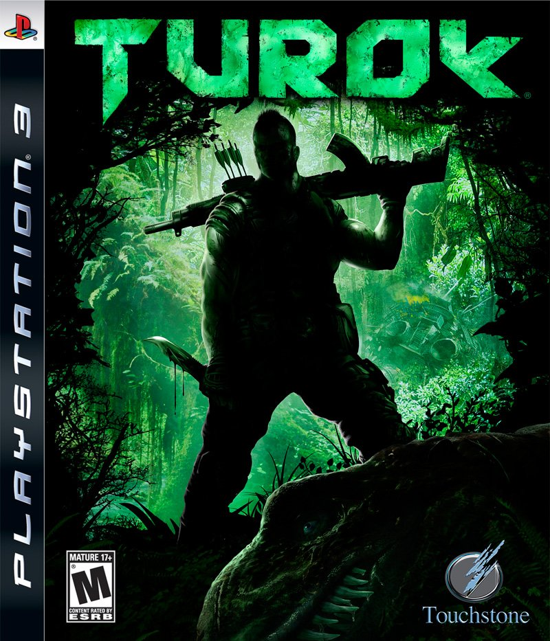 Turok  Video Game Back Title by WonderClub