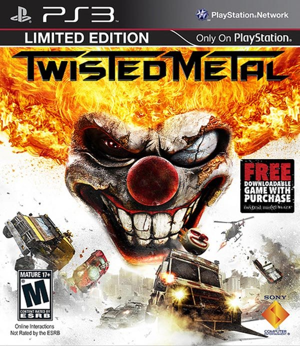 Twisted Metal Video Game Back Title by WonderClub