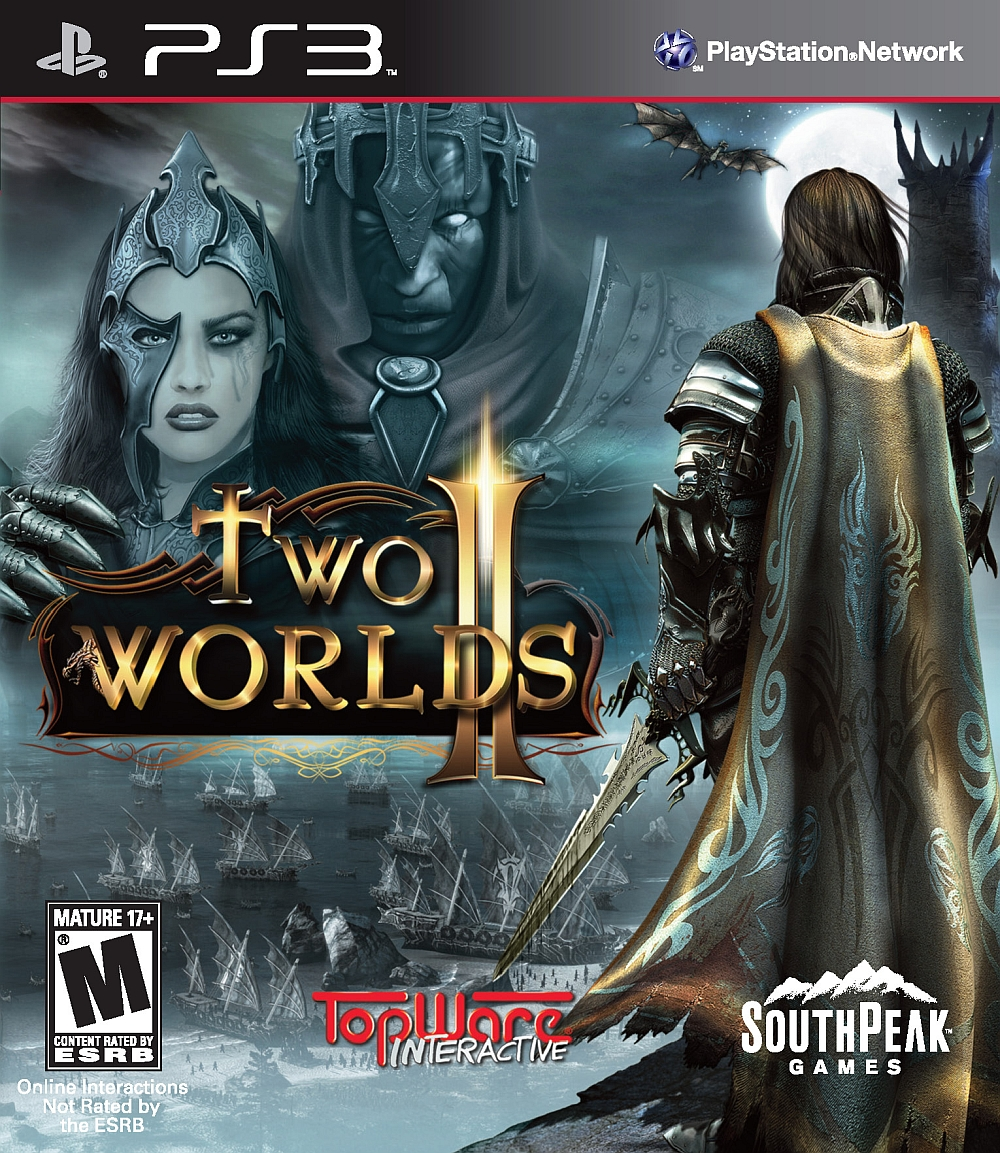 Two Worlds II Video Game Back Title by WonderClub