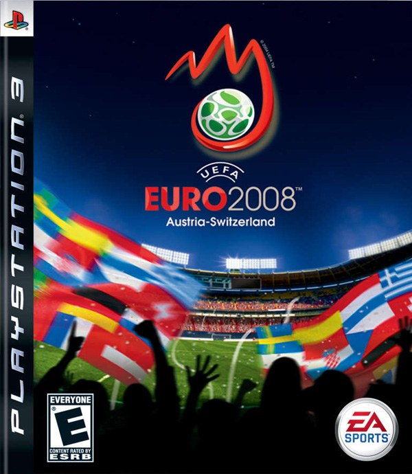 UEFA Euro 2008 Video Game Back Title by WonderClub