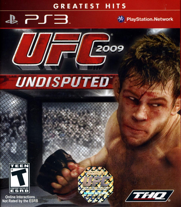 UFC 2009 Undisputed Video Game Back Title by WonderClub