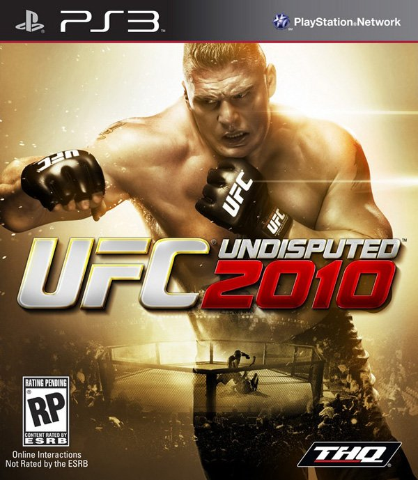 UFC Undisputed 2010 Video Game Back Title by WonderClub