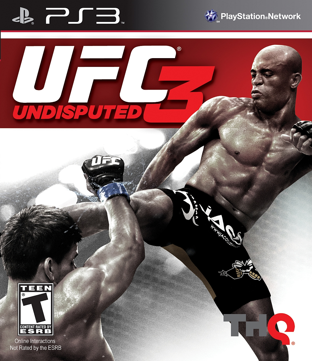 UFC Undisputed 3 Video Game Back Title by WonderClub