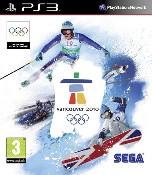 Vancouver 2010  Video Game Back Title by WonderClub