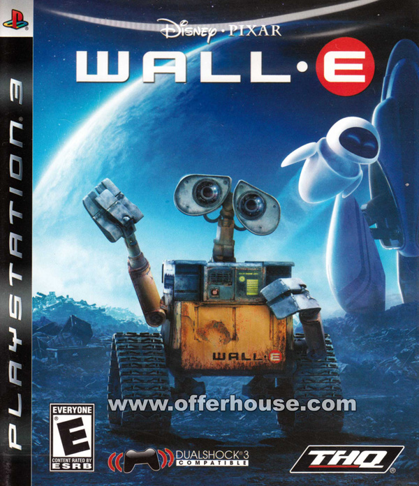 WALL-E Video Game Back Title by WonderClub