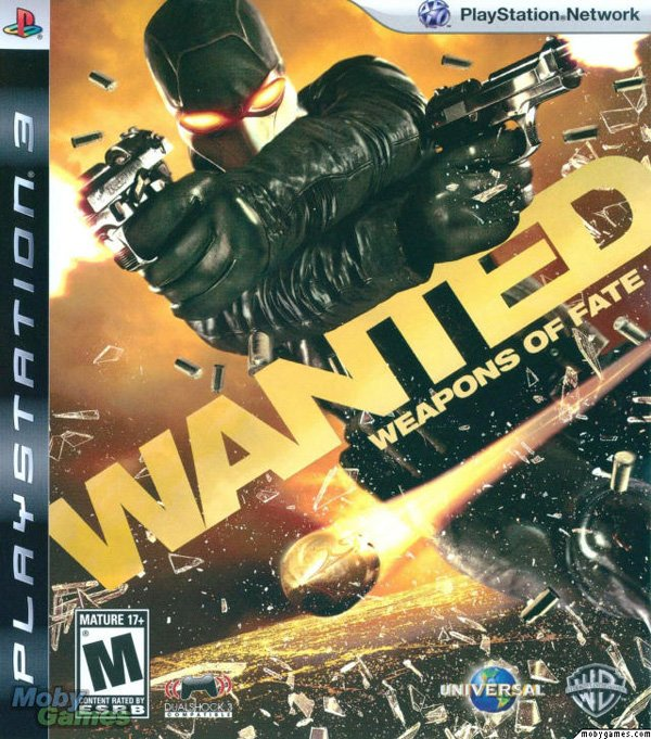 Wanted: Weapons Of Fate Video Game Back Title by WonderClub