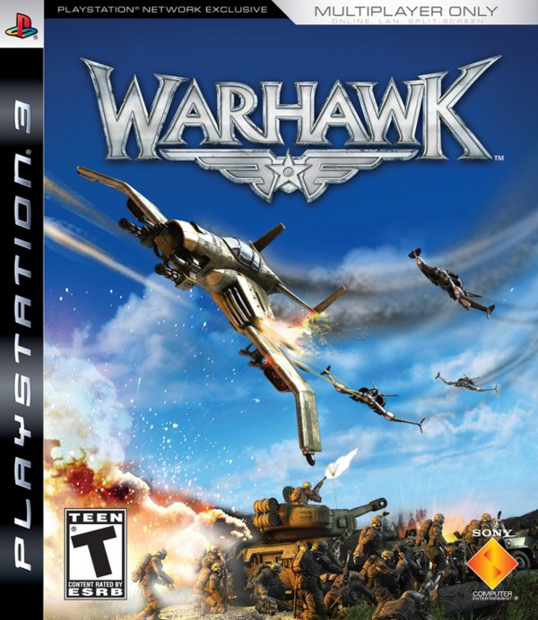 Warhawk Video Game Back Title by WonderClub