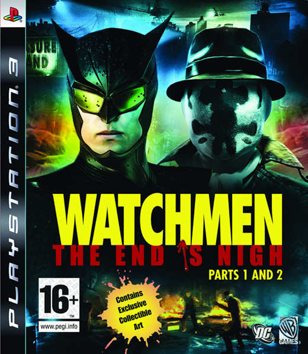 Watchmen: The End Is Nigh Video Game Back Title by WonderClub