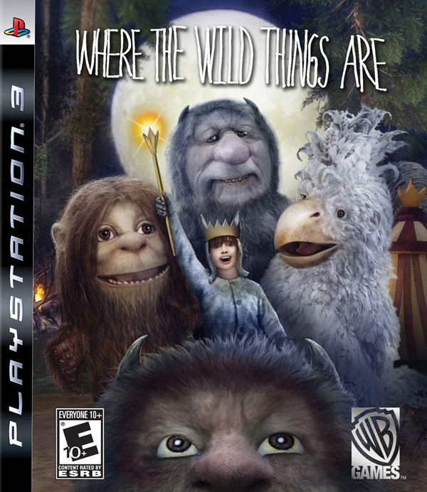 Where The Wild Things Are Video Game Back Title by WonderClub