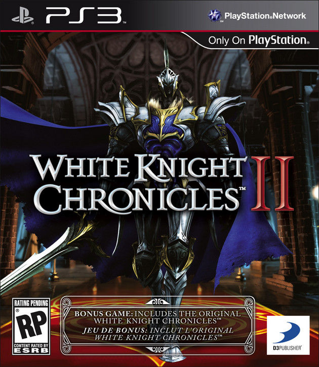 White Knight Chronicles II Video Game Back Title by WonderClub