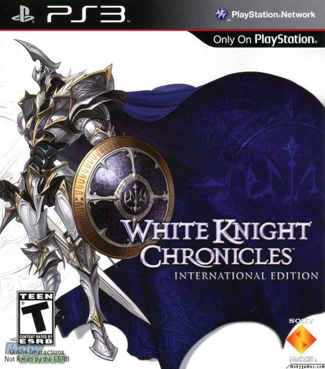 White Knight Chronicles Video Game Back Title by WonderClub