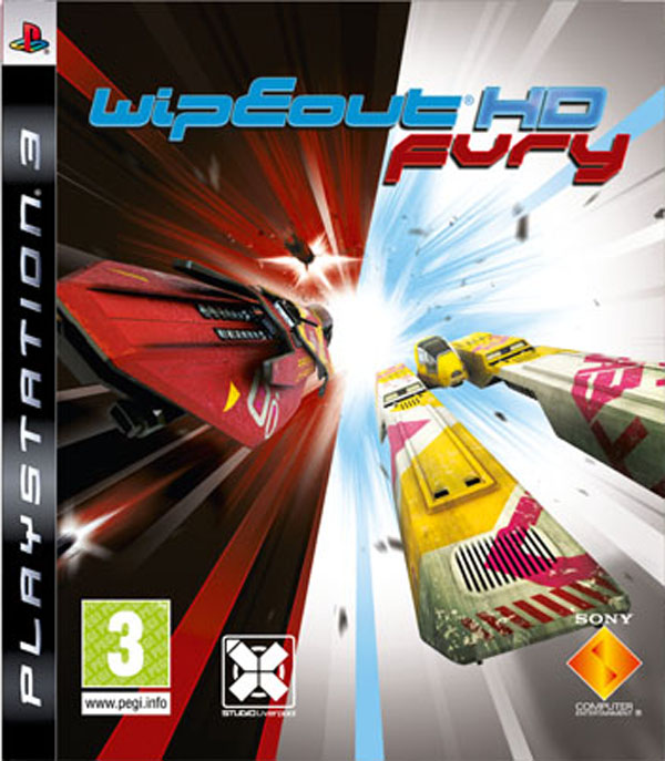 Wipeout HD Video Game Back Title by WonderClub
