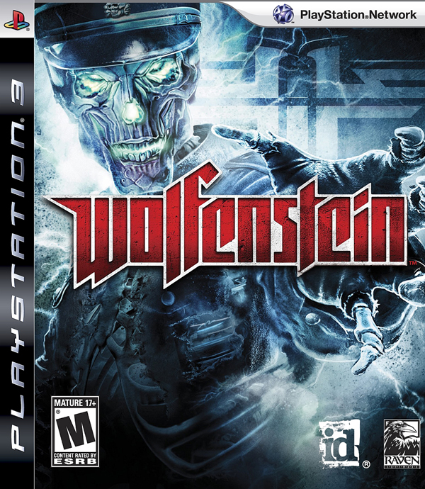 Wolfenstein Video Game Back Title by WonderClub