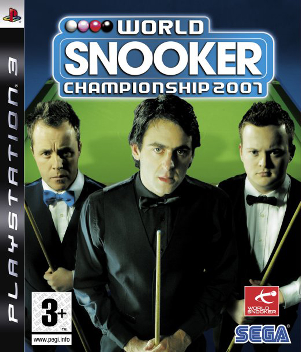 World Snooker Championship 2007 Video Game Back Title by WonderClub