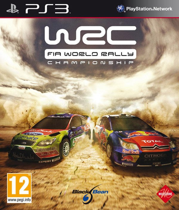 WRC: FIA World Rally Championship Video Game Back Title by WonderClub