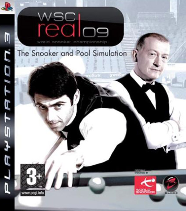 WSC Real 08: World Snooker Championship Video Game Back Title by WonderClub