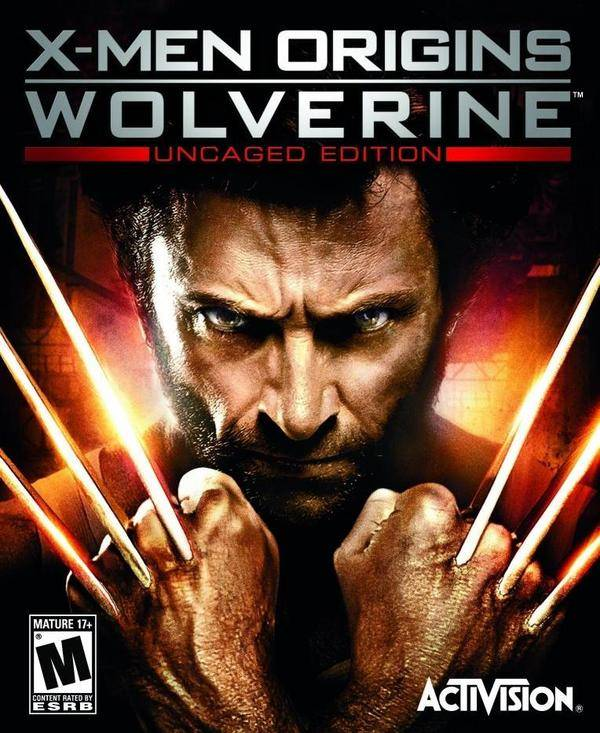 X-Men Origins: Wolverine  Video Game Back Title by WonderClub