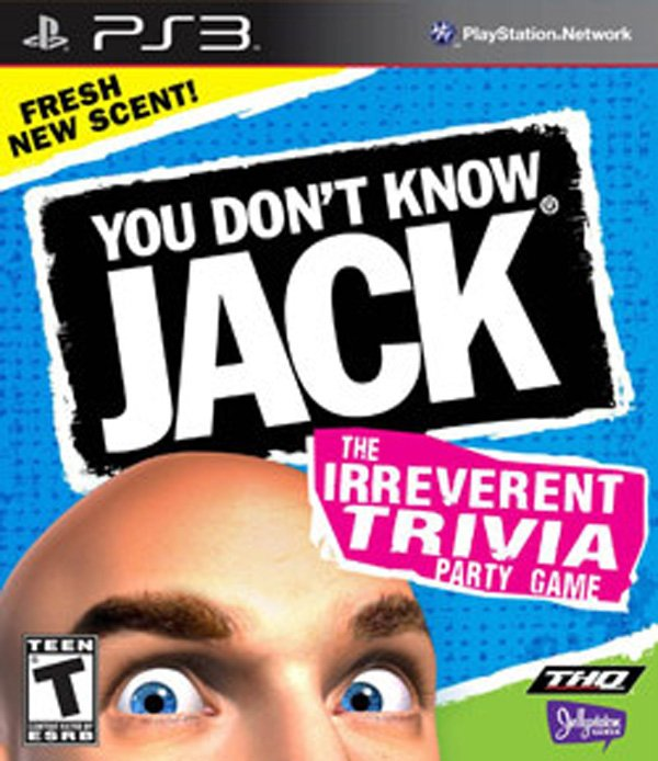 You Don't Know Jack Video Game Back Title by WonderClub