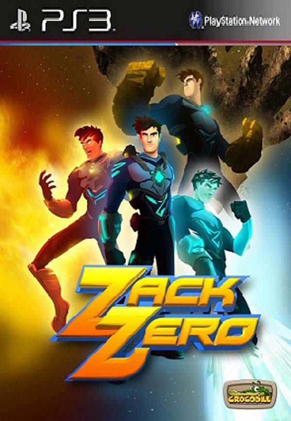 Zack Zero Video Game Back Title by WonderClub