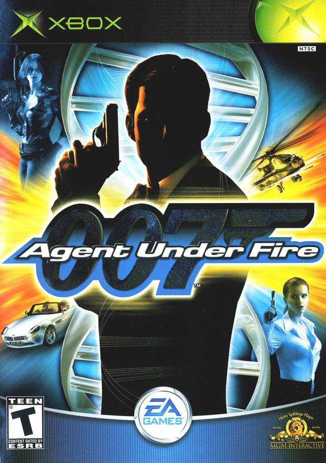 007: Agent Under Fire Video Game Back Title by WonderClub