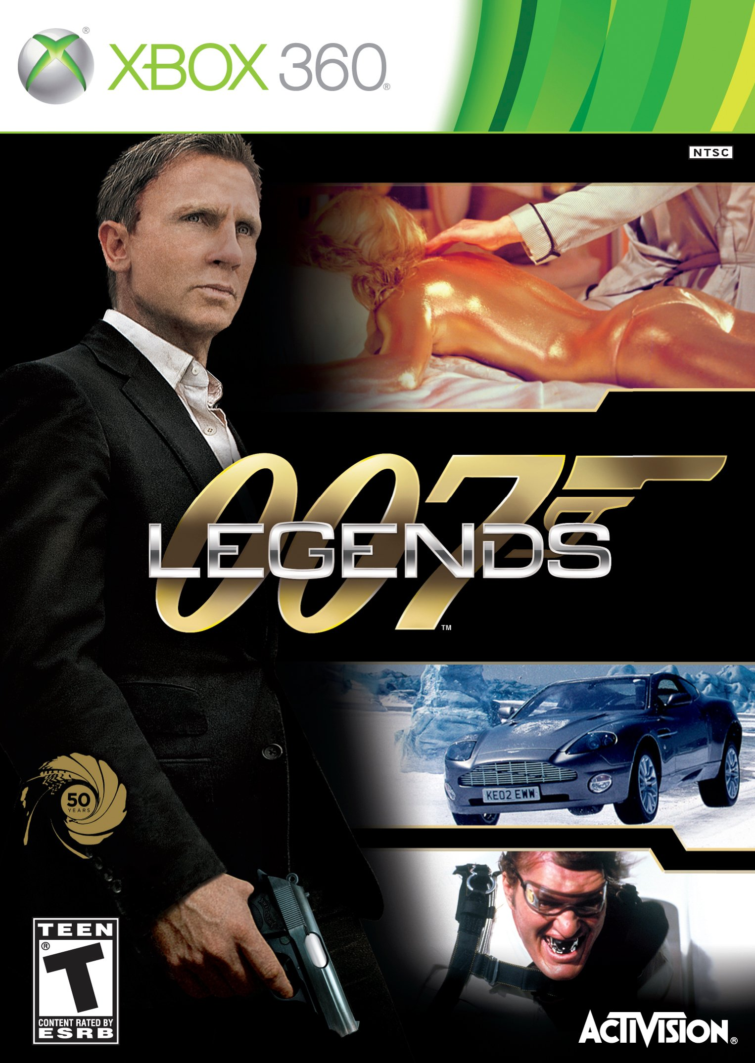 007 Legends Video Game Back Title by WonderClub