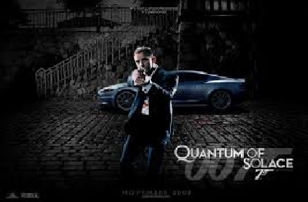 007: Quantum Of Solace Video Game Back Title by WonderClub