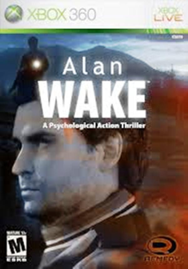 Alan Wake Video Game Back Title by WonderClub