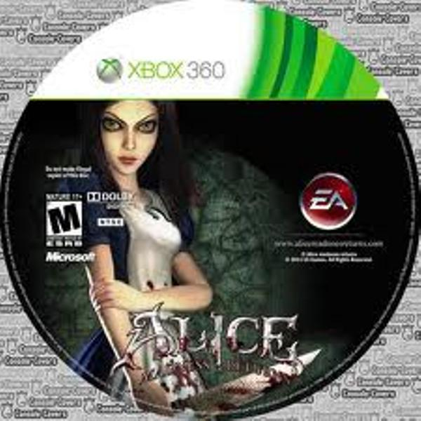 Alice: Madness Returns Video Game Back Title by WonderClub