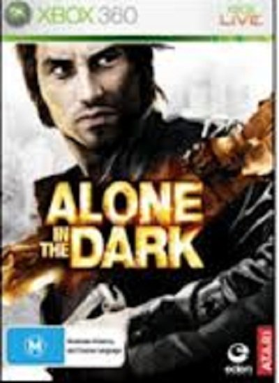Alone In The Dark (2008 Video Game) Video Game Back Title by WonderClub