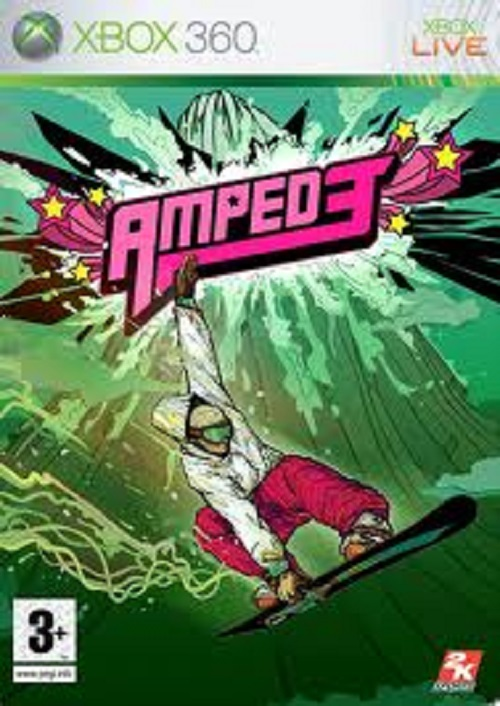 Amped 3 Video Game Back Title by WonderClub