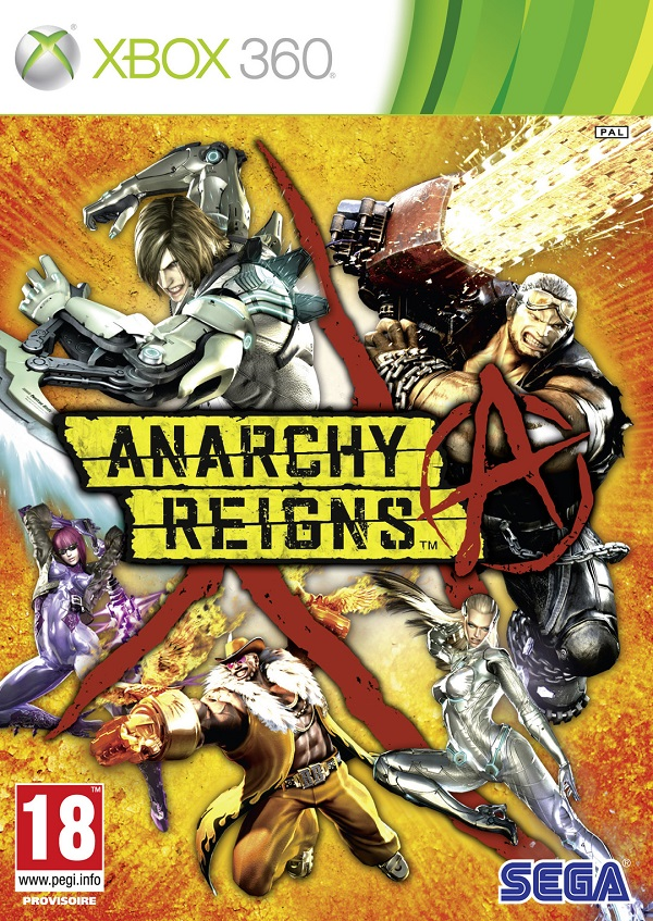 Anarchy Reigns Video Game Back Title by WonderClub