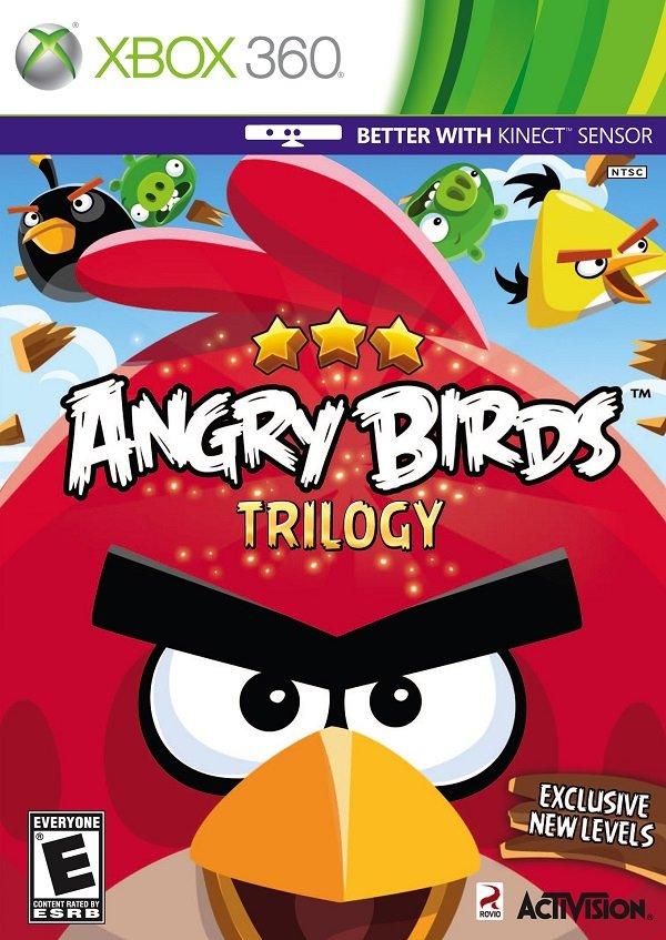 Angry Birds Trilogy Video Game Back Title by WonderClub