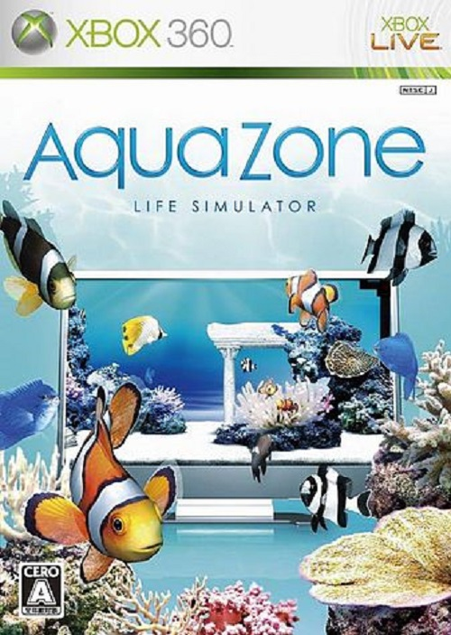 AquaZone: Life Simulator Video Game Back Title by WonderClub