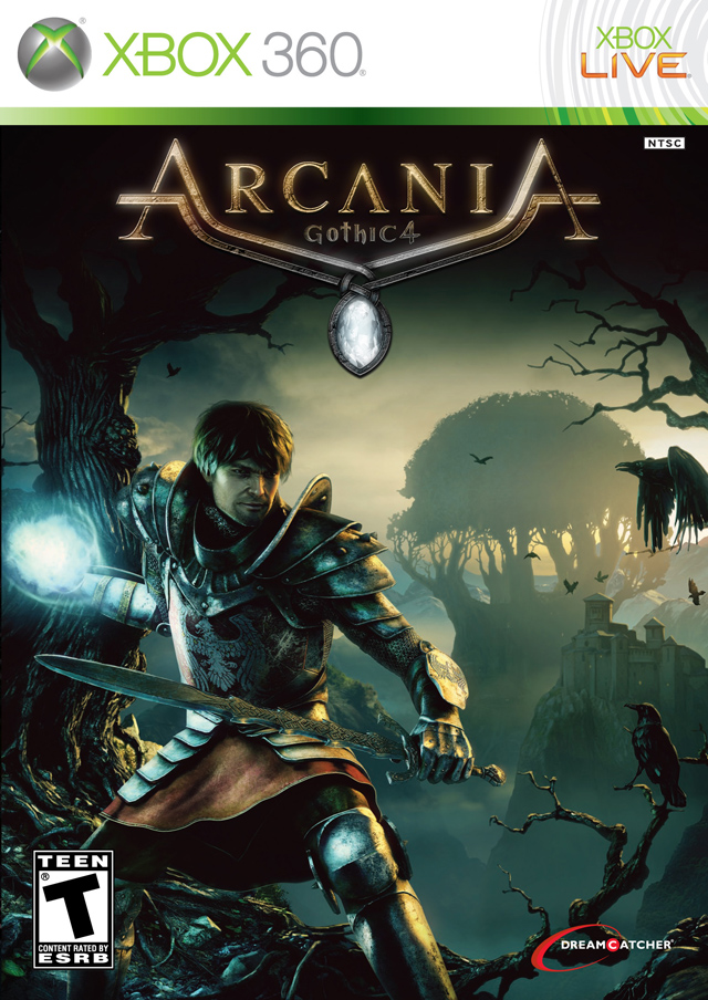 Arcania: Gothic 4 Video Game Back Title by WonderClub
