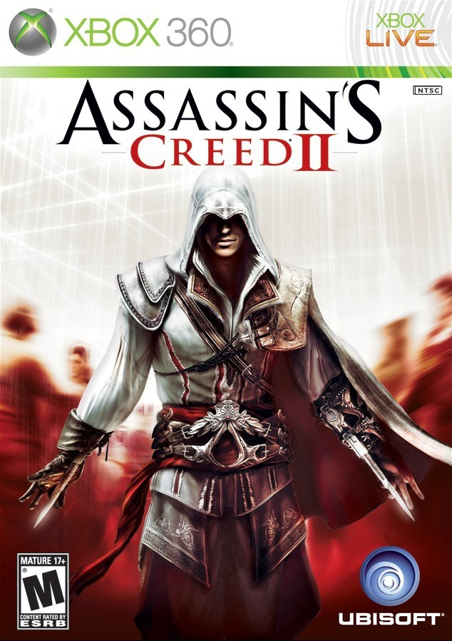 Assassin's Creed II Video Game Back Title by WonderClub
