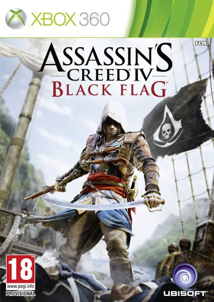 Assassin\'s Creed IV: Black Flag Video Game Back Title by WonderClub