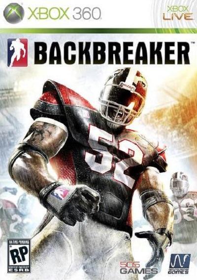 Backbreaker (video Game) Video Game Back Title by WonderClub