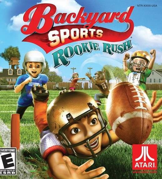Backyard Sports Series Video Game Back Title by WonderClub