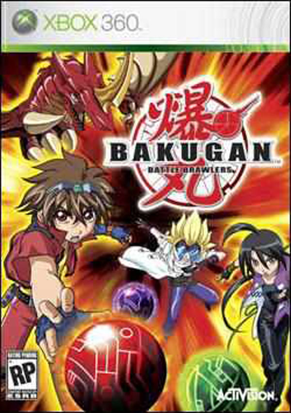 Bakugan Battle Brawlers Video Game Back Title by WonderClub