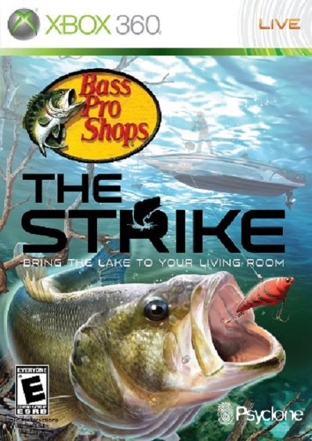 Bass Pro Shops: The Strike Video Game Back Title by WonderClub