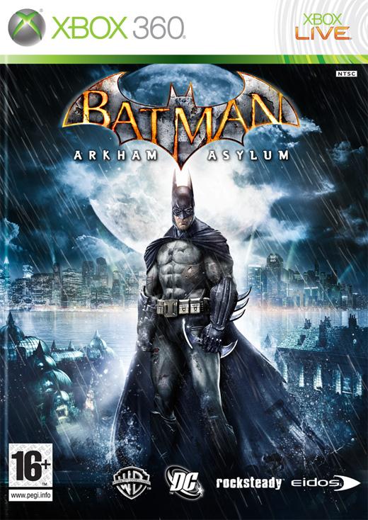 Batman: Arkham Asylum Video Game Back Title by WonderClub