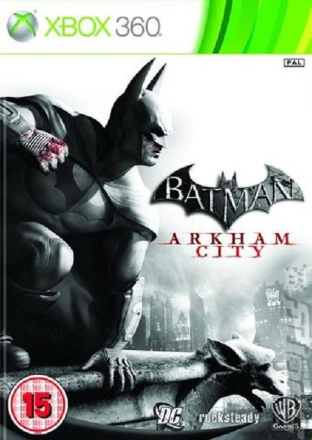 Batman: Arkham City Video Game Back Title by WonderClub