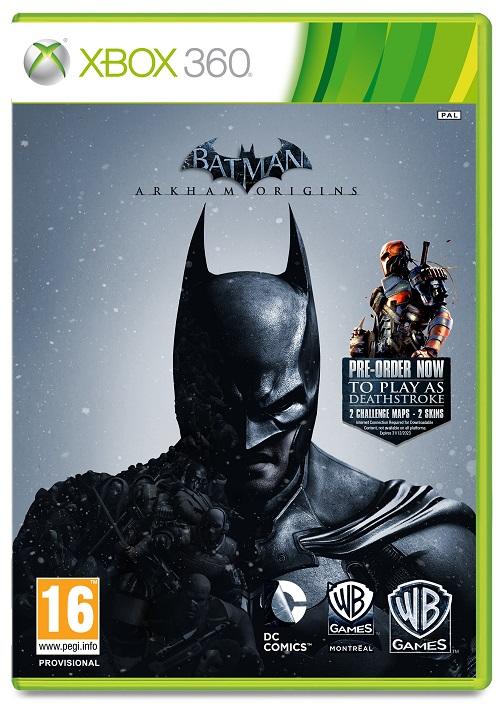 Batman: Arkham Origins Video Game Back Title by WonderClub