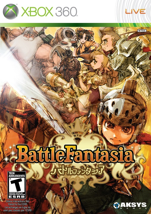 Battle Fantasia Video Game Back Title by WonderClub