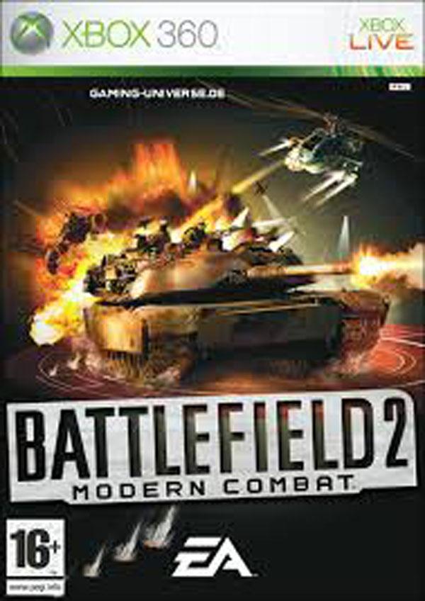 Battlefield 2: Modern Combat Video Game Back Title by WonderClub