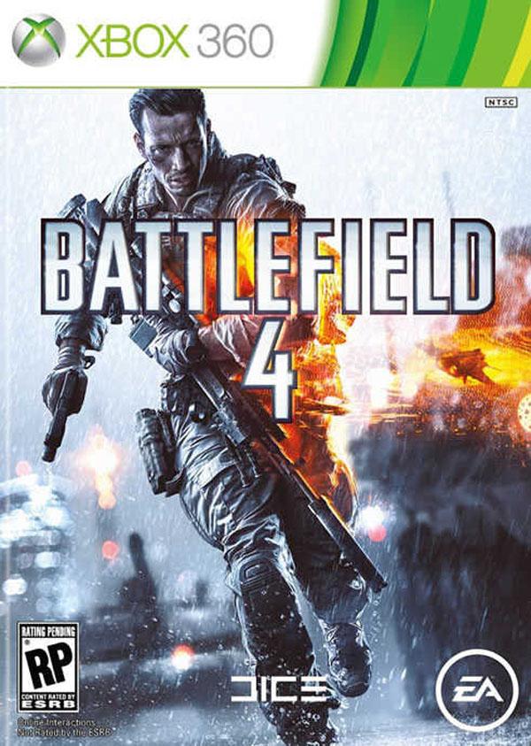 Battlefield 4 Video Game Back Title by WonderClub