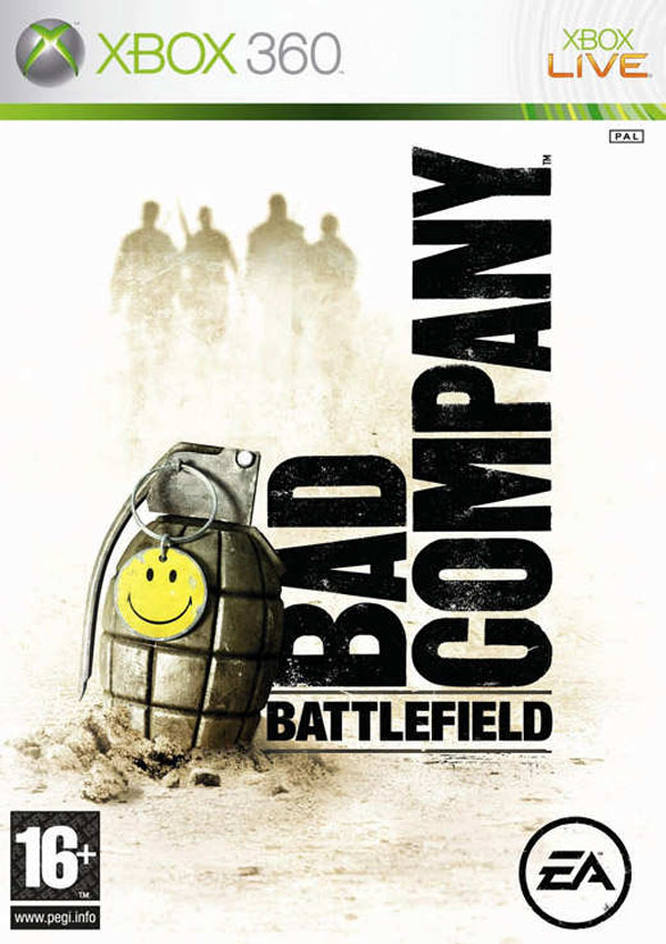Battlefield: Bad Company Video Game Back Title by WonderClub