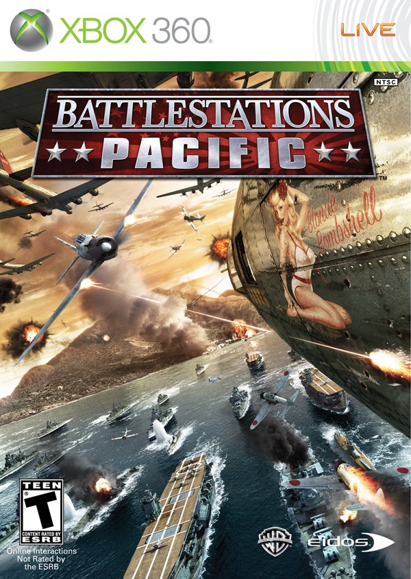 Battlestations: Pacific Video Game Back Title by WonderClub