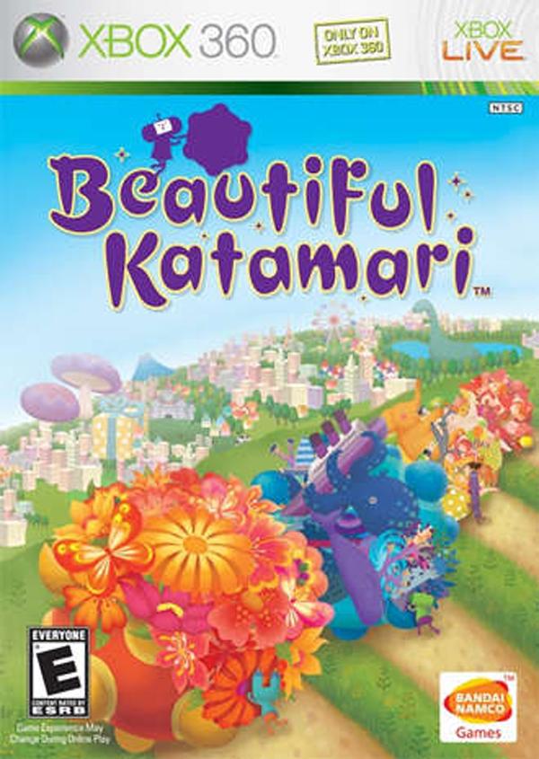 Beautiful Katamari Video Game Back Title by WonderClub